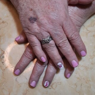 October remembrance $30 Gel manicure with nail art  Message or text 321-848-6789 for your appointment or click Book Now