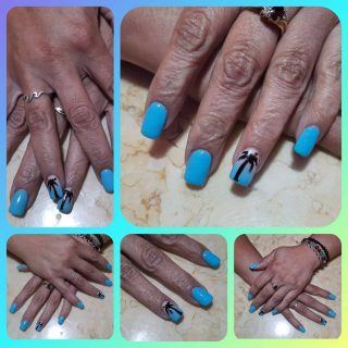 Full set $30 Nail art $1-$5 per nail Gel polish $10  Message me or text 321-848-6789 for an appointment