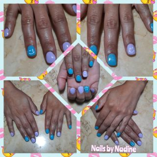 Happy nails $25 Gel manicure   Message me or text 321-848-6789 for your appointment