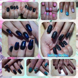 Choose your own style! Full set $30 - Gel manicure $22 - Short nails okay!  Message me or text 321-848-6789 for an appointment