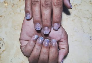 Full set of business length acrylics with gel polish $40  Message me or text 321-848-6789 for an appointment