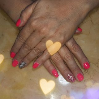 Dip powder $30 Gel manicure $22 Nail art $1-5 per nail   Message me or text 321-848-6789 for an appointment