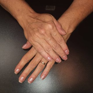 Manicure with gel polish $22  Message me or text 321-848-6789 for an appointment